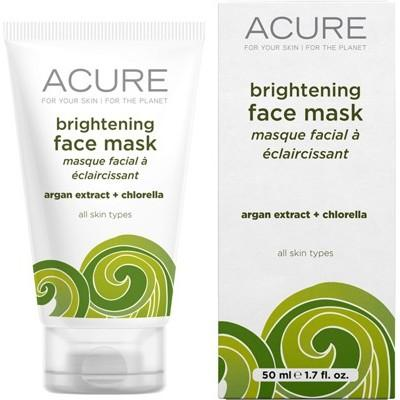 ACURE Cell Stimulating Organic Facial Mask Argan Stem Cell Chlorella 50ml
