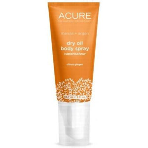 ACURE Citrus Ginger Marula + Argan Dry Oil Body Spray 59ml