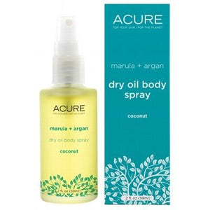 ACURE Coconut Marula + Argan Dry Oil Body Spray 59ml