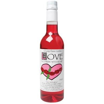 ALCHEMY Cordial Love - Rosepetal & Lime 750ml
