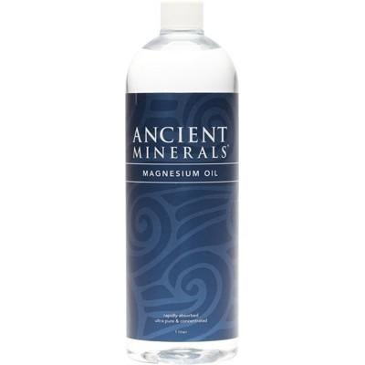 ANCIENT MINERALS Magnesium Oil Full Strength 1L
