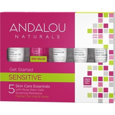 ANDALOU NATURAL Get Started Trial Travel Pack 5 Minis