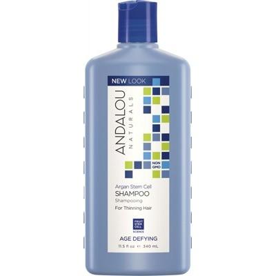 ANDALOU NATURALS Organic Shampoo Age Defying Argan Stem Cells for Thinning Hair 340ml