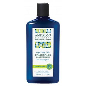 ANDALOU NATURALS Organic Conditioner Age Defying Argan Stem Cells for Thinning Hair 340ml