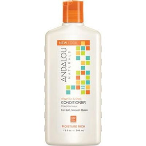 ANDALOU NATURALS Organic Conditioner Moisture Rich Argan Sweet Orange for Soft Smooth Sheen 340ml