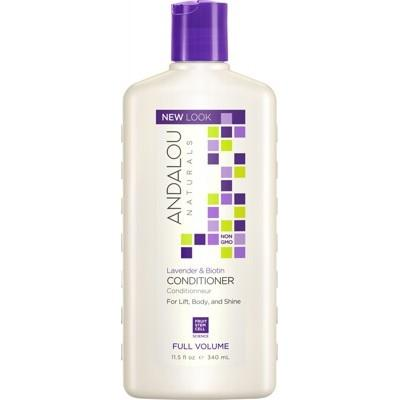 ANDALOU NATURALS Organic Conditioner Full Volume Lavender Biotin Adds Lift Body Shine 340ml