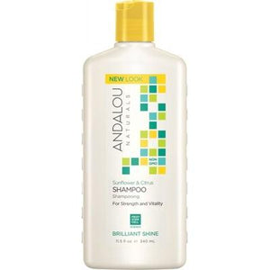 ANDALOU NATURALS Organic Shampoo Brilliant Shine Sunflower & Citrus 340ml