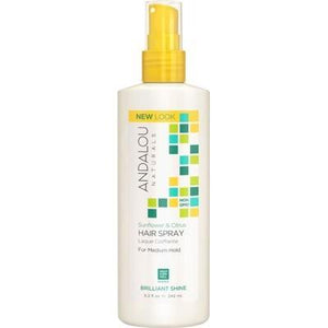 ANDALOU NATURALS - Perfect Hold Organic Hair Spray Sunflower & Citrus 242ml