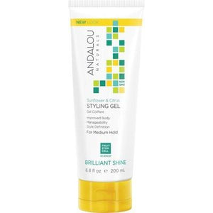 ANDALOU NATURALS - Medium Hold Organic Styling Gel Sunflower & Citrus 242ml