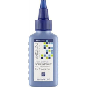 ANDALOU NATURALS Organic Scalp Intensive Treatment Argan Stem Cells (for Thinning Hair) 62ml