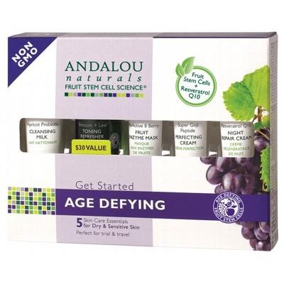 "ANDALOU NATURALS ""Get Started"" Trial & Travel Pack 5 Mini's"