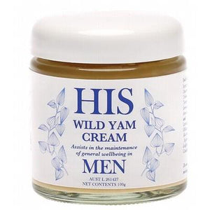 ANNA'S Wild Yam Cream (His) Maintenance of General Wellbeing 100g