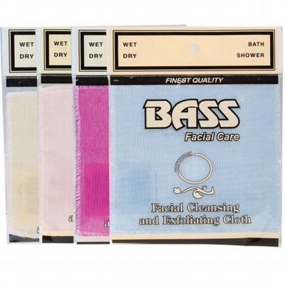 BASS FACIAL CARE Exfoliation Facial Cleansing Cloth