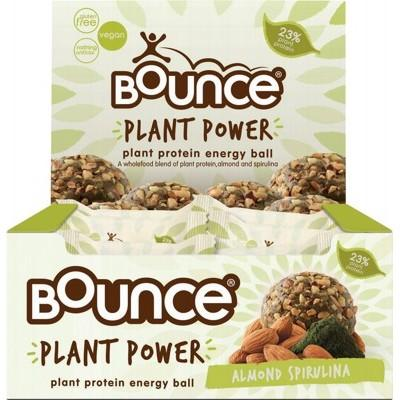 BOUNCE Energy Balls - Plant Power Almond Spirulina 40g
