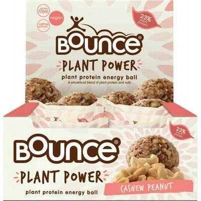 BOUNCE Energy Balls - Plant Power Cashew Peanut 40g