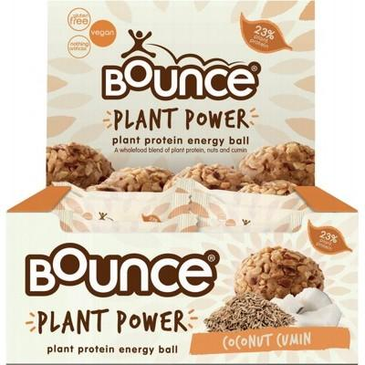 BOUNCE Energy Balls - Plant Power Coconut Cumin 40g
