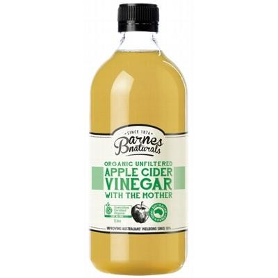 BARNES NATURALS Organic & Unfiltered Apple Cider Vinegar 1L