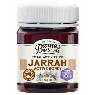 BARNES NATURALS Organic Jarrah Active Honey TA 10+ 250g