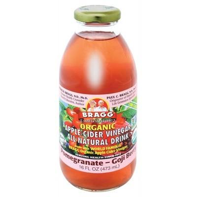 BRAGG Apple Cider Vinegar Drink ACV with Pomegranate & Goji 473ml
