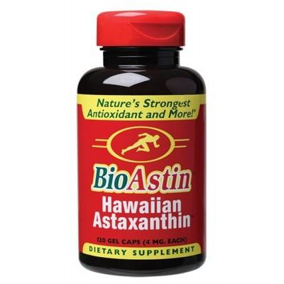 BIOASTIN Hawaiian Astaxanthin Gel Caps (4mg) 120