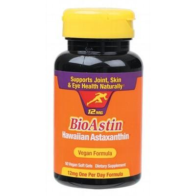 BIOASTIN Hawaiian Astaxanthin Vegan Caps (12mg) 50