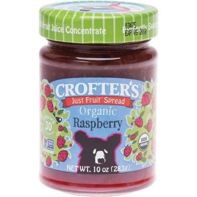 CROFTERS Just Fruit Spread Organic Raspberry 283g