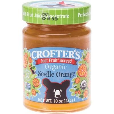 CROFTERS Just Fruit Spread Organic Seville Orange 283g