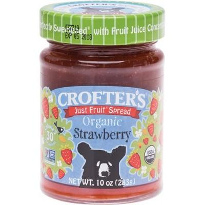 CROFTERS Just Fruit Spread Organic Strawberry 283g