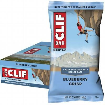 CLIF - Organic Energy Bar - Blueberry Crisp - Box of 12