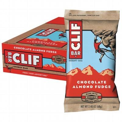 CLIF - Organic Energy Bar - Chocolate Almond Fudge - Box of 12