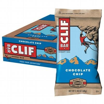 CLIF - Organic Energy Bar - Chocolate Chip - Box of 12
