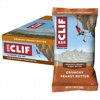 CLIF - Organic Energy Bar - Crunchy Peanut Butter - Box of 12