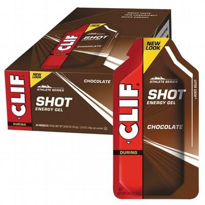 CLIF - Organic Energy Shot Gel Chocolate - Box of 24