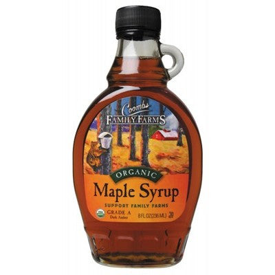 COOMBS FAMILY FARMS Organic Maple Syrup Grade A 236ml