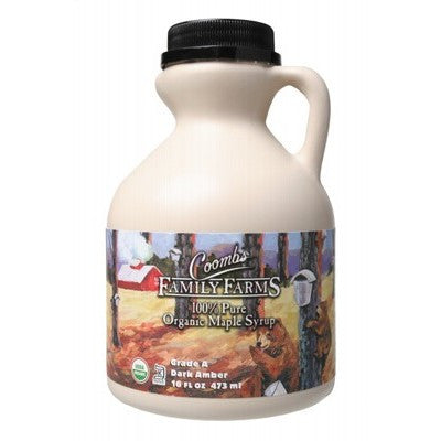 COOMBS FAMILY FARMS Organic Maple Syrup 473 ml Grade A
