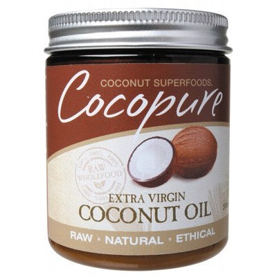 COCOPURE Organic Coconut Oil Extra Virgin - 190ml