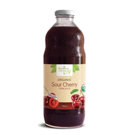 Complete Health 100% Organic Sour Cherry Juice