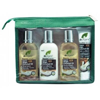 DR ORGANIC Coconut Oil Mini Travel Pack