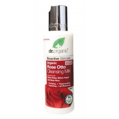 DR Organic Rose Otto Organic Cleansing Milk - 150ml