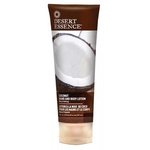 DESERT ESSENCE Coconut Organic Hand & Body Lotion 237ml