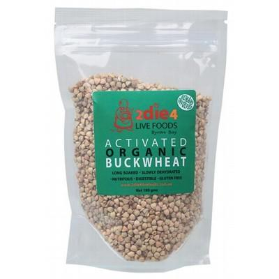 2DIE4 LIVE FOODS Activated Organic Buckwheat  180g