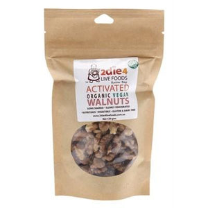 2DIE4 LIVE FOODS Activated Organic Walnuts Vegan 120g