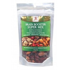 DR SUPERFOODS Brain Booster Super Mix Premium Quality Fruit & Nut Mix 150g