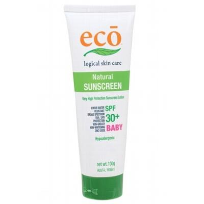 ECO Organic Baby Sunscreen with SPF 30+