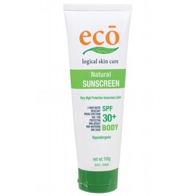 ECO Organic Body Sunscreen 100g with SPF 30+