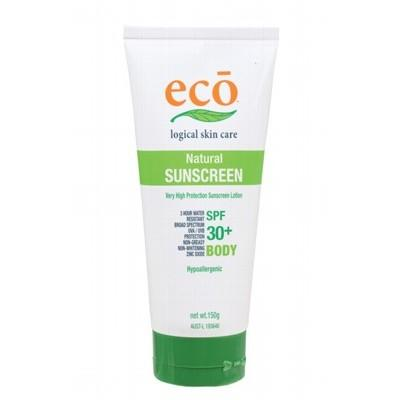 ECO Organic Body Sunscreen 150g with SPF 30+