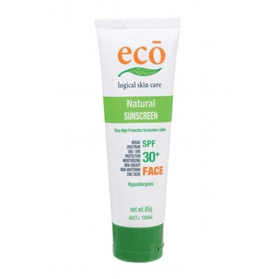 ECO Organic Facial Sunscreen with SPF 30+