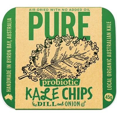 EXTRAORDINARY FOODS Pure - Kale Chips Dill and Onion 45g