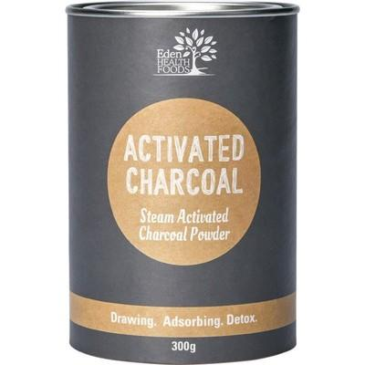 EDEN HEALTHFOODS Activated Charcoal Steam Activated Charcoal Powder 300g