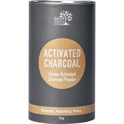 EDEN HEALTHFOODS Activated Charcoal Steam Activated Charcoal Powder 1kg